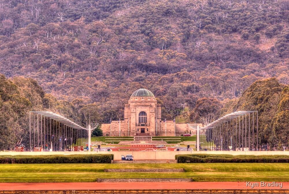 Australian War Memorial Canberra Australia  by Kym Bradley