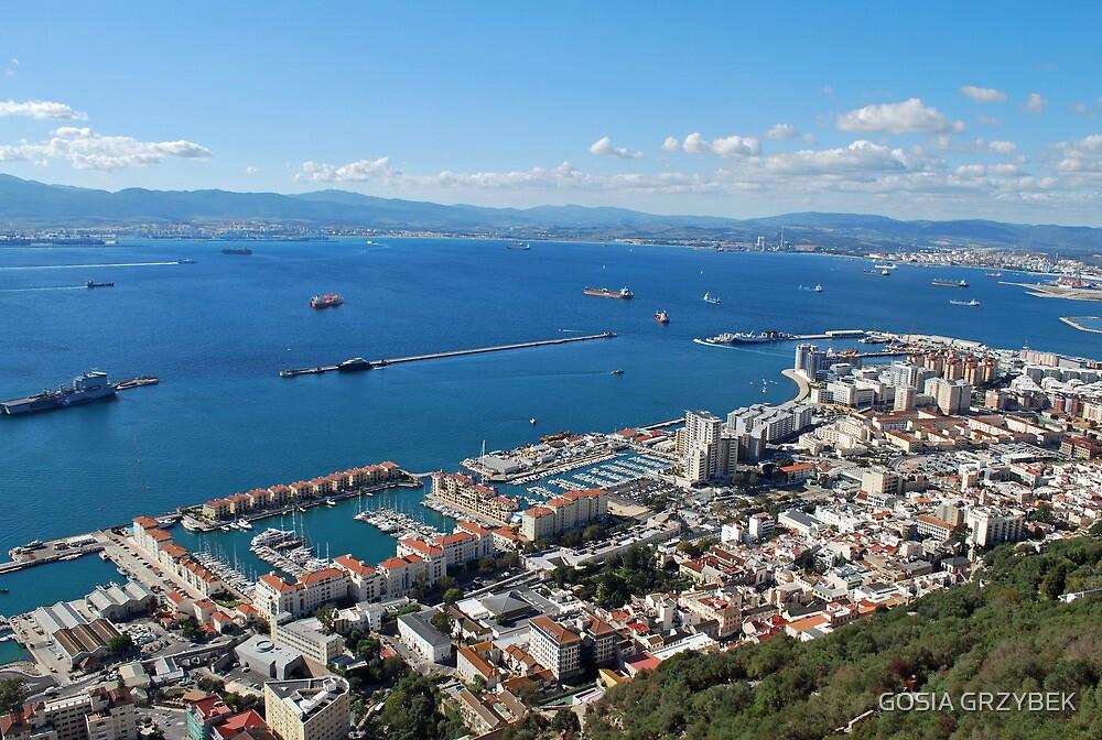 Gibraltar by GOSIA GRZYBEK