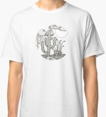 Daytime or Nighttime Desert Storms Classic T-Shirt