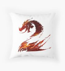 Guild Wars 2 Design Throw Pillow