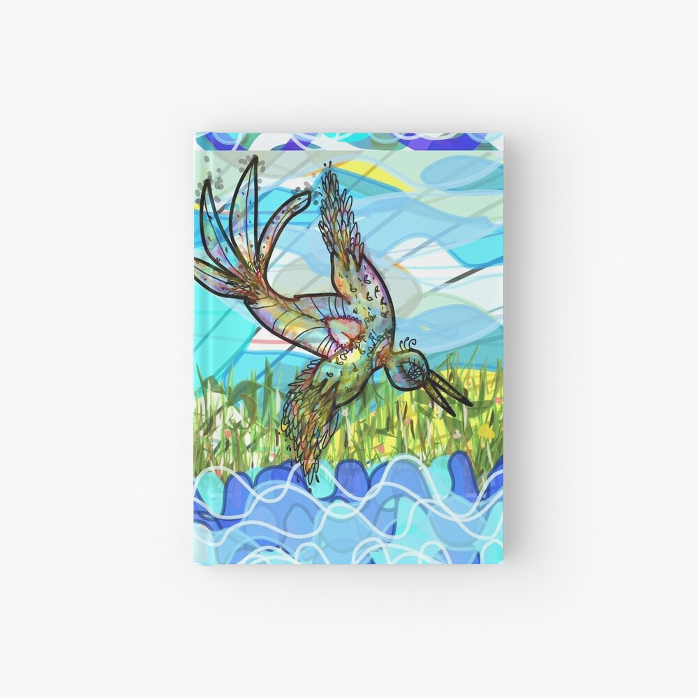 The bird and the river Hardcover Journal