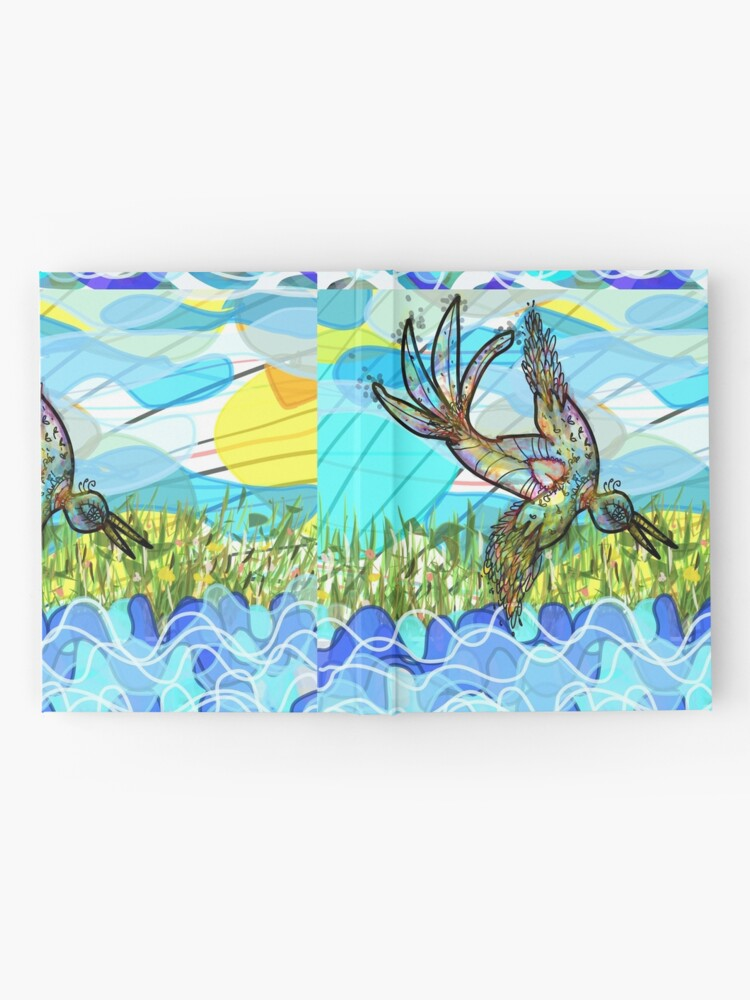 Alternate view of The bird and the river Hardcover Journal