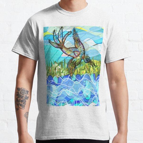 El pájaro y el río Camiseta clásica