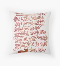 About Paths... Throw Pillow
