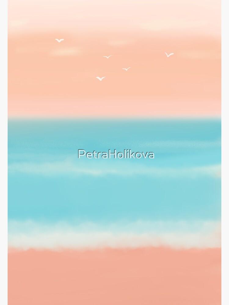 Sunrise on the beach by PetraHolikova