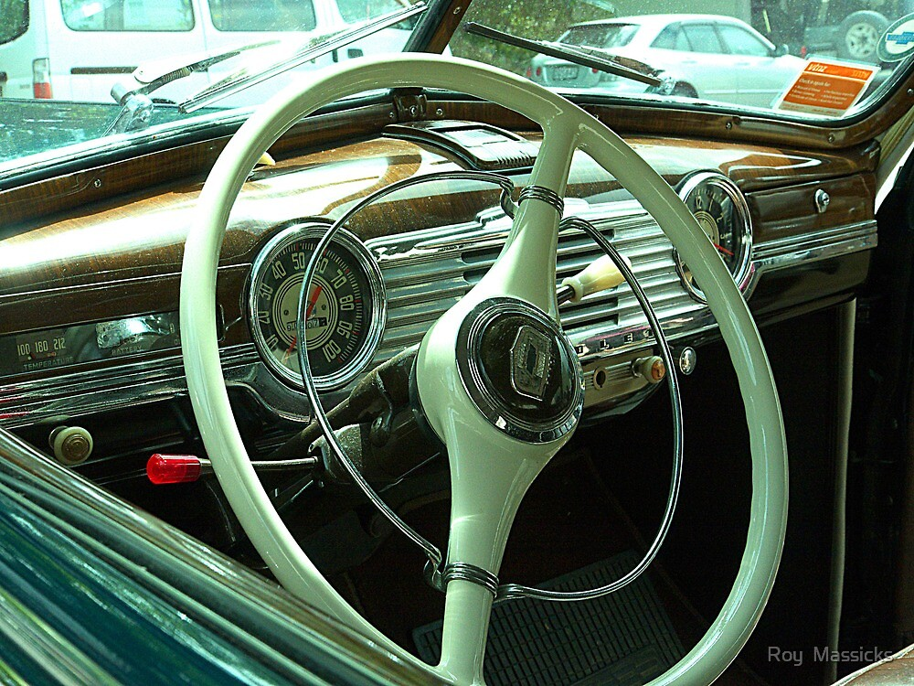 The Office -  1947 Chrysler Fleetwood.........! by Roy  Massicks