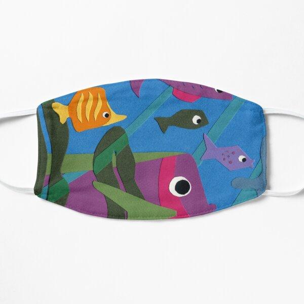 Friendly Fish - paper cut design Mask