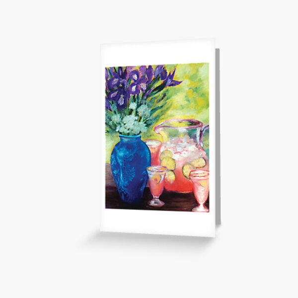 Secret Garden 1 - an image for dining rooms. Greeting Card