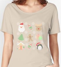 Santa & His Helpers #1 Women's Relaxed Fit T-Shirt