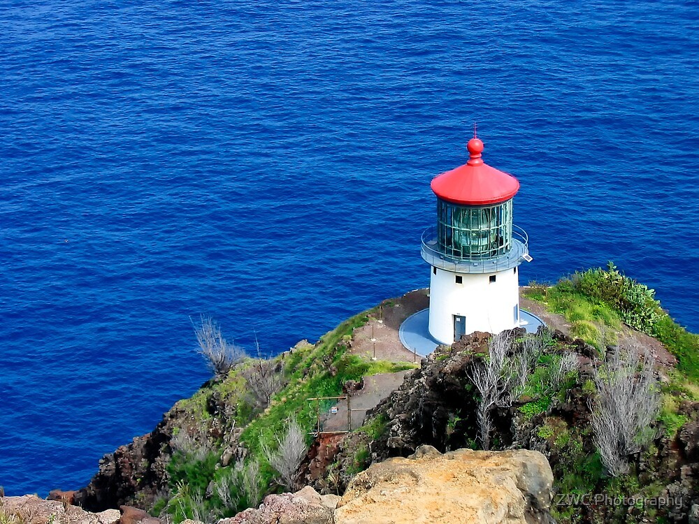 Makapu'u Point Lighthouse by ZWC Photography