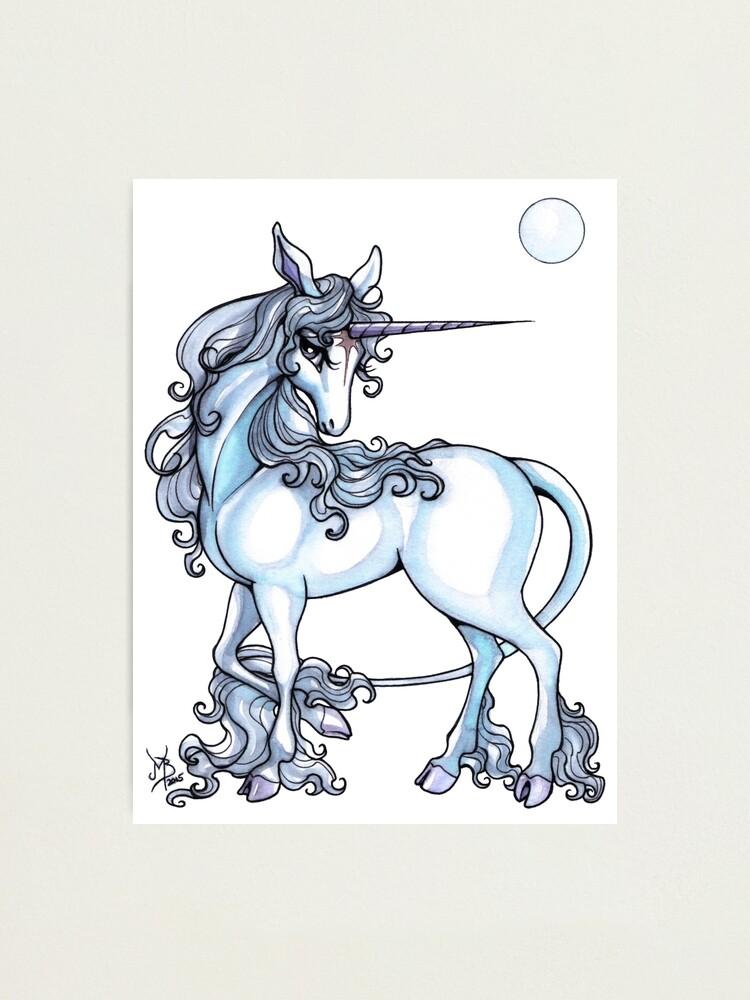 Alternate view of The Last Unicorn Photographic Print