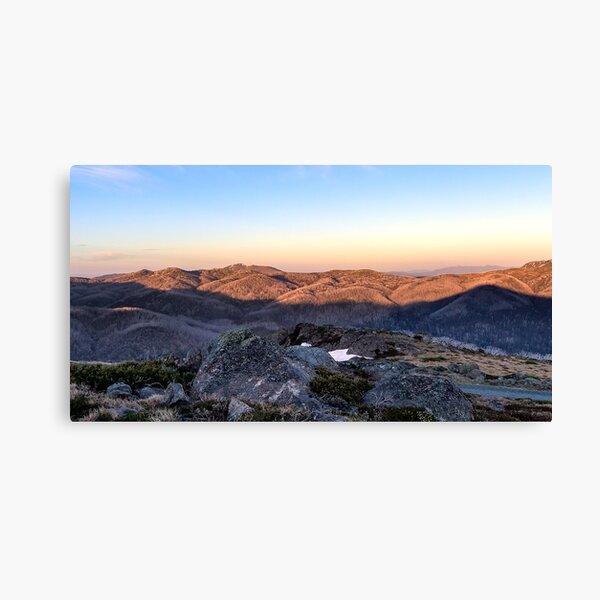 Towards Mt Feathertop Canvas Print