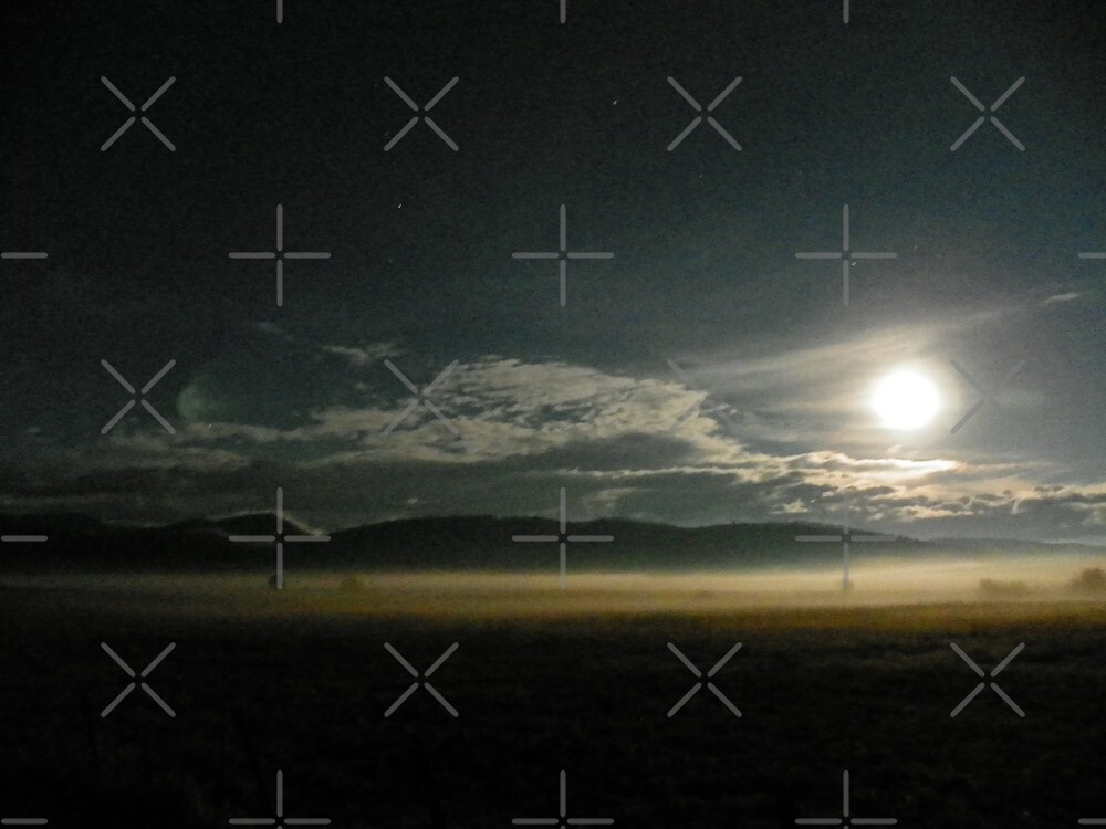 De Ja Vu Full Moon by Betty  Town Duncan