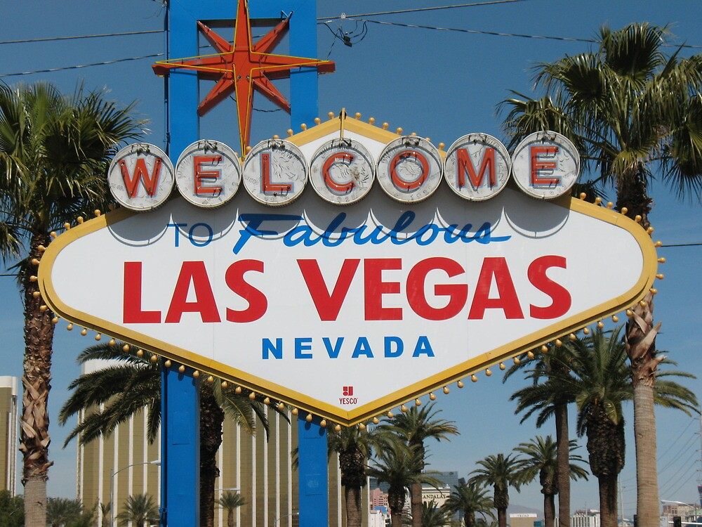 Las Vegas welcomes you by ROB HUGHES