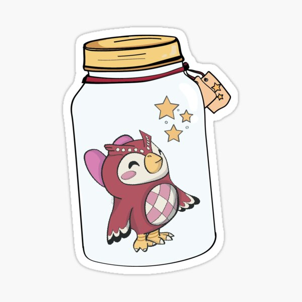 Celeste in a Jar ACNH Sticker
