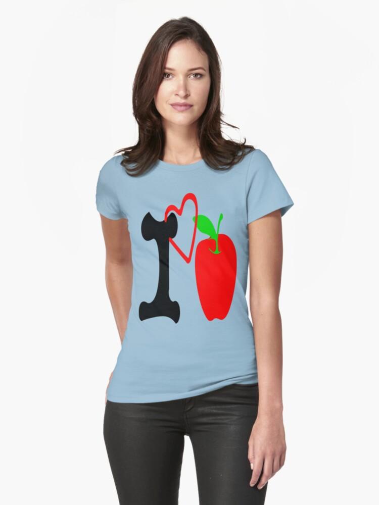 ღ♥I Love Apple Clothing & Stickers♥ღ by Fantabulous