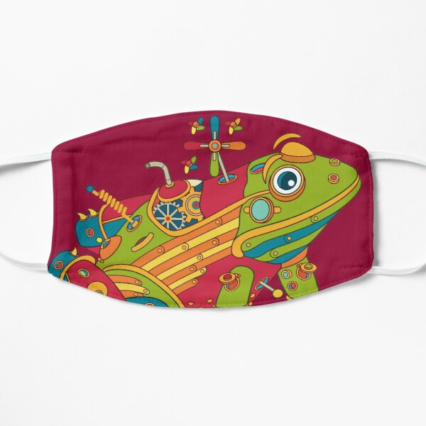 Frog, from the AlphaPod collection Flat Mask