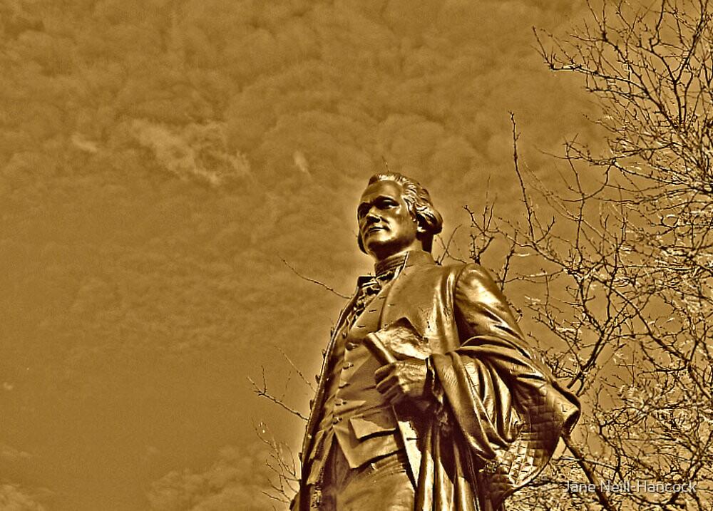 Alexander Hamilton Statue, Paterson NJ by Jane Neill-Hancock