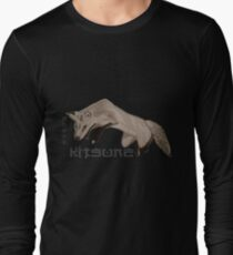 Red Fox Ink & Brush Long Sleeve T-Shirt