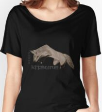 Red Fox Ink & Brush Women's Relaxed Fit T-Shirt