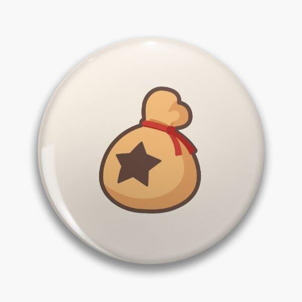 Small Animal Crossing Bells Icon Pin
