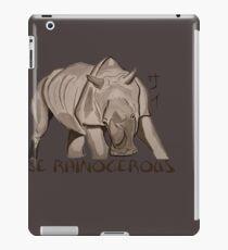 Rhino Ink and Brush iPad Case/Skin