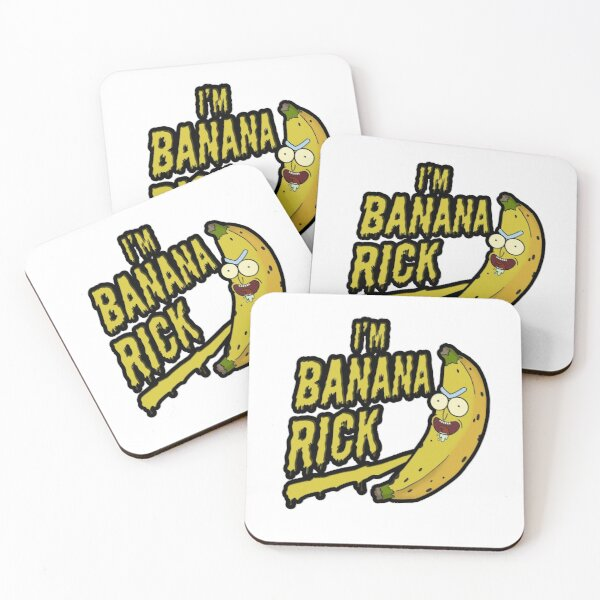I'm Banana Rick! Coasters (Set of 4)