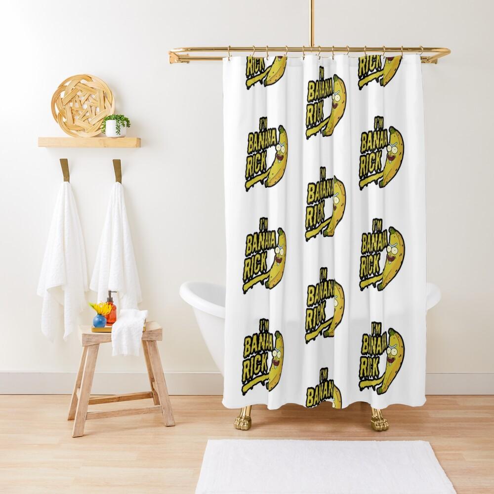 I'm Banana Rick! Shower Curtain