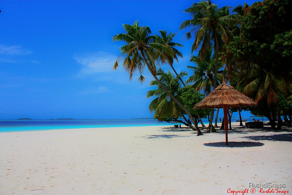 THIS IS MALDIVES by RushdiSnaps