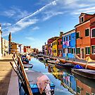 Colourful Burano, Venice by Robyn Carter