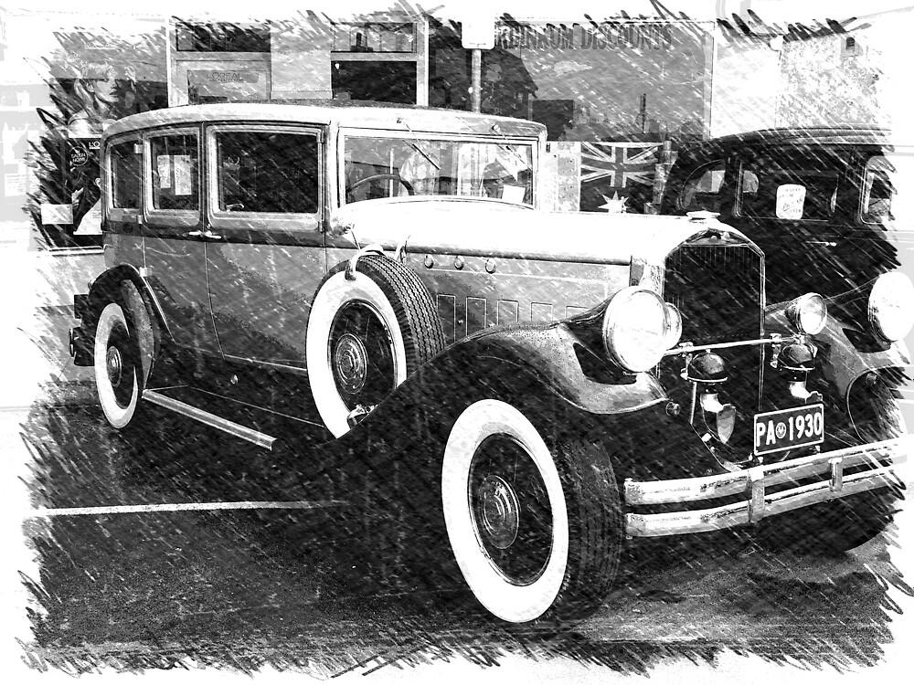 1930 Pierce Arrow8 by Dean Wiles