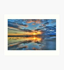 Ocean Grove Sunset 2 Art Print