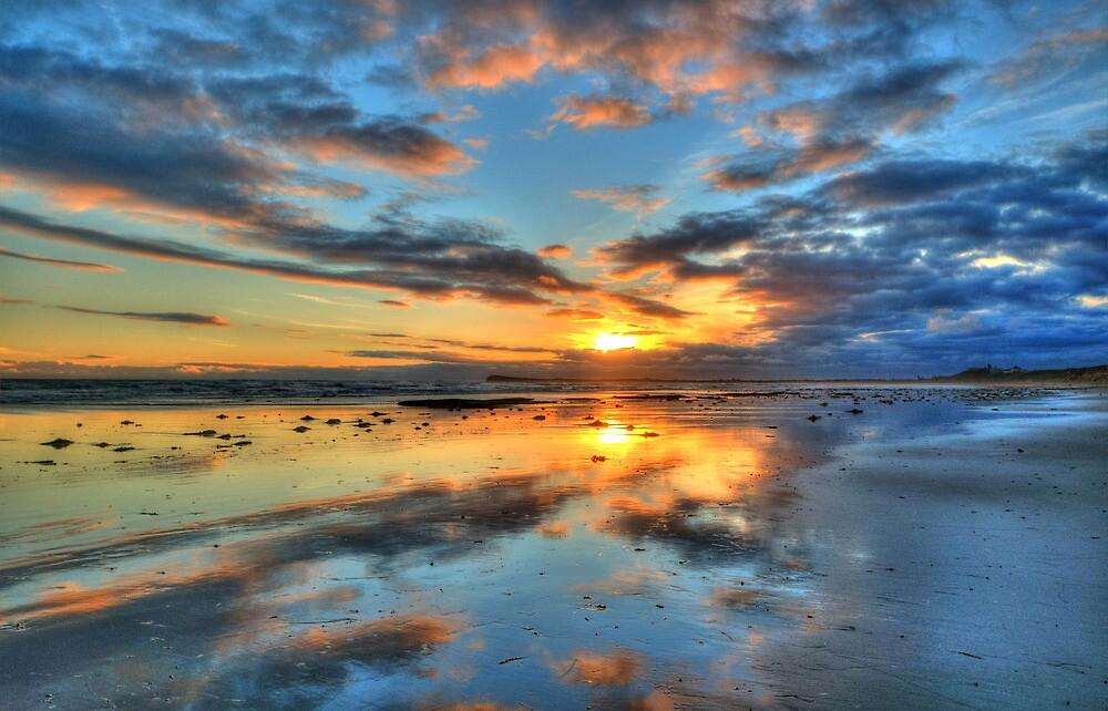 Ocean Grove Sunset 2 by Danielle  Miner
