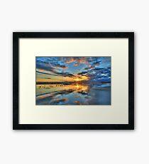 Ocean Grove Sunset 2 Framed Print