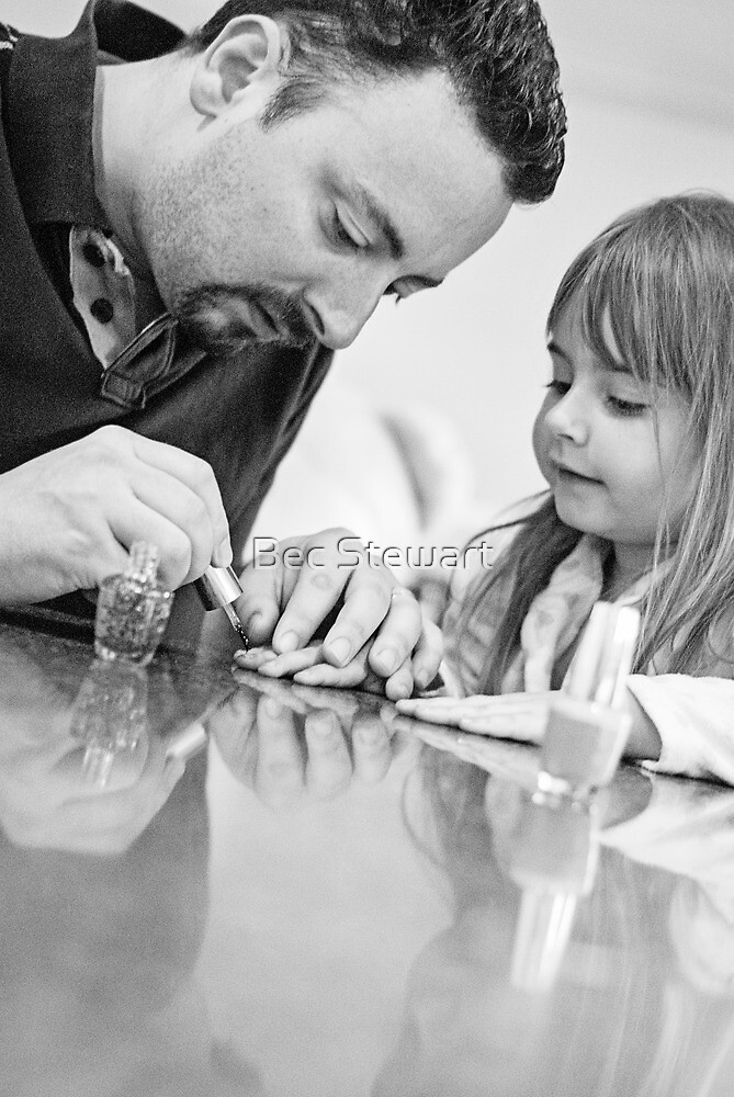 Will you paint my nails Daddy? by Bec Stewart