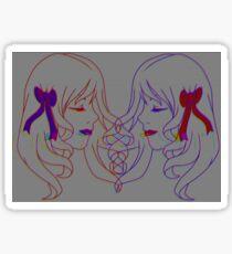 Glitched Duality Sticker