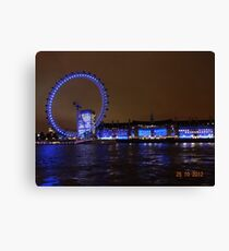 THE GREAT LONDON EYE Canvas Print