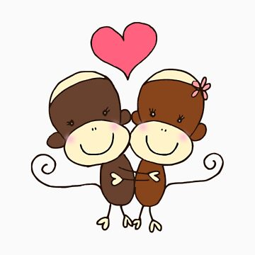 Sock Monkey Hugz by Kazumi