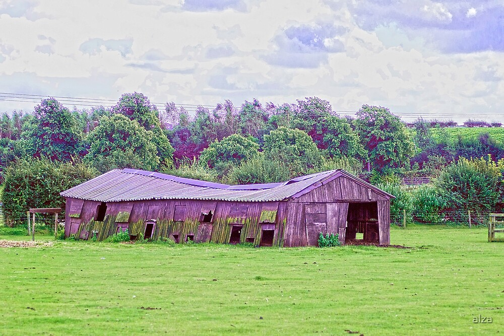 The Barn by ANDREW BARKE