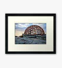 Sculptures by the Sea Framed Print