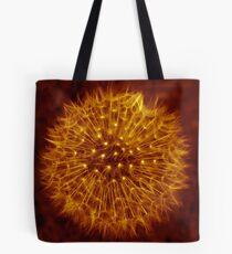 Dandelion Amber Glow Tote Bag