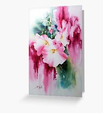 Hollyhock-2 Greeting Card