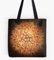 Dandelion Flame Tote Bag