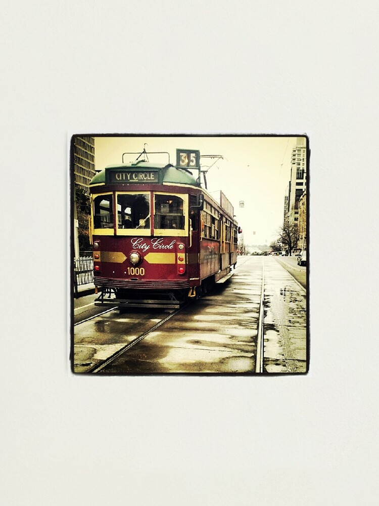 Alternate view of Melbourne Tram Photographic Print