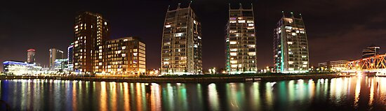 Media City Manchester by Paul Madden