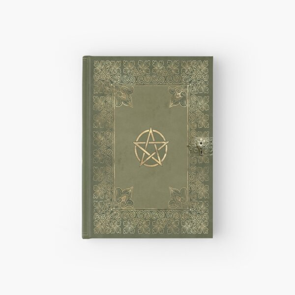 Yule magic key grimoire Hardcover Journal