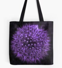 Dandelion Purple Tote Bag