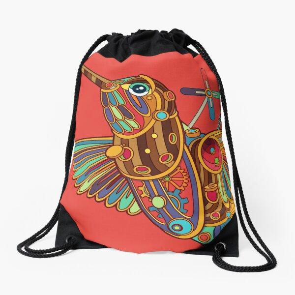 Xantus Hummingbird Drawstring Bag
