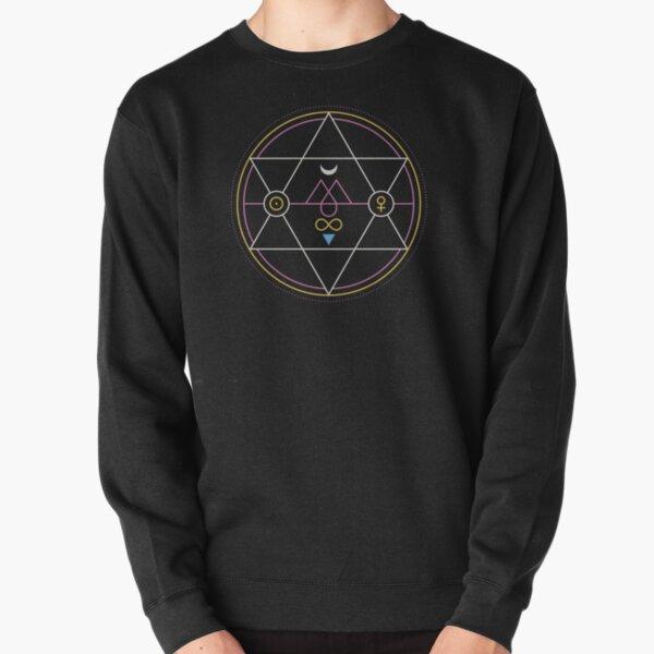 Alchemy Transmutation Circle - True Love Symbol Pullover Sweatshirt