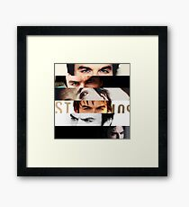 Ian Somerhalder's Eyes! Framed Print